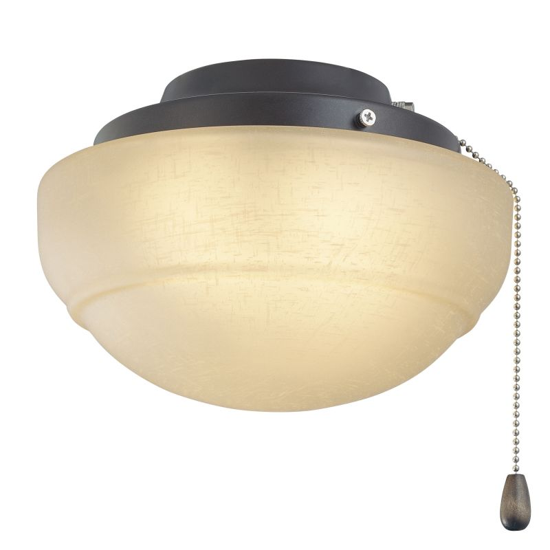 """Fanimation LKLP111A 8.5"""" Halogen Rounded Bowl Light Kit with Pull"""