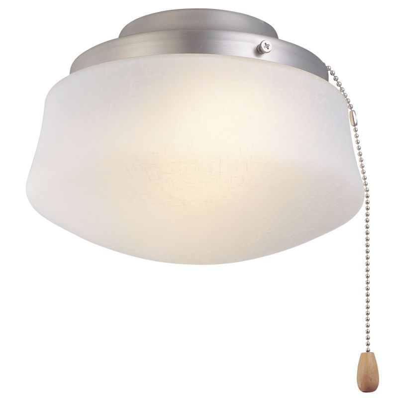 """Fanimation LKLP112W 8.5"""" Halogen Flared Bowl Light Kit with Pull Chain"""