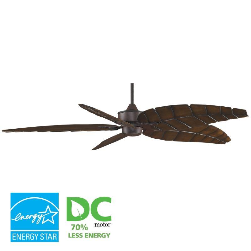"""Fanimation MAD3250-B5300WA Islander 72"""" 5 Blade DC Ceiling Fan -"""