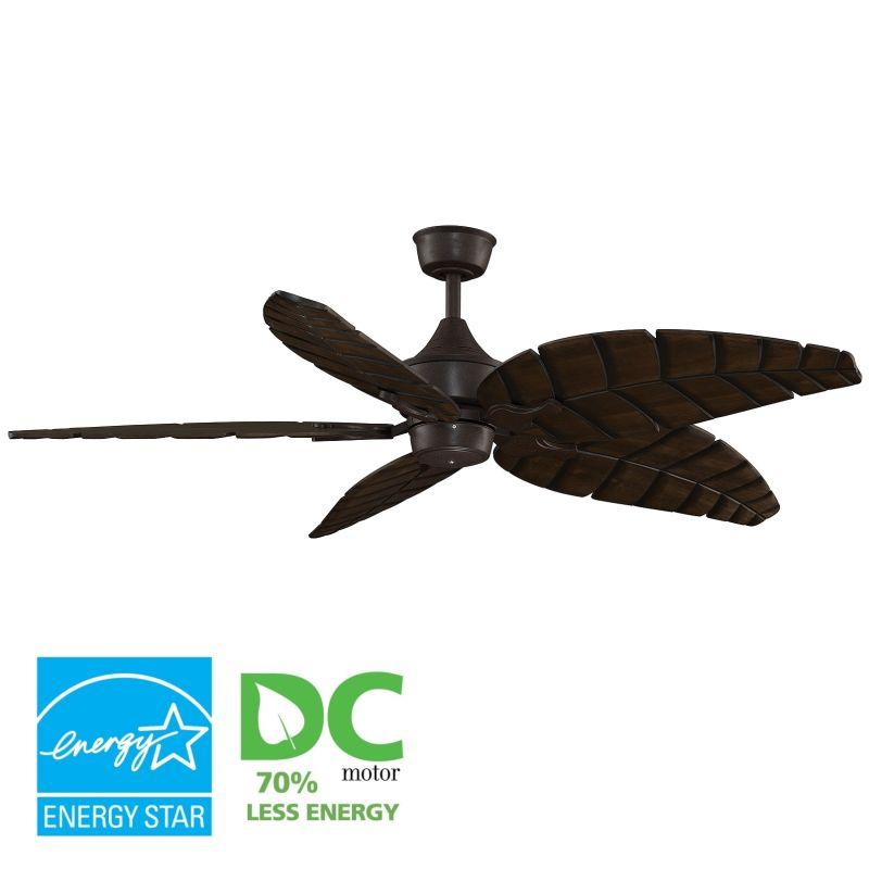 """Fanimation MAD3250-B5350WA Islander 60"""" 5 Blade DC Ceiling Fan -"""