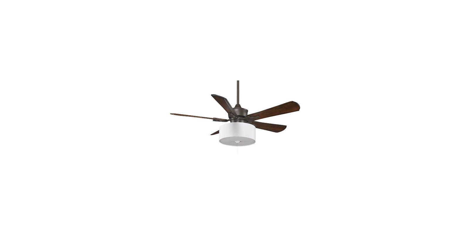 """Fanimation MAD3250-B5310WA-LK113WH Islander 52"""" 5 Blade DC Ceiling Fan"""