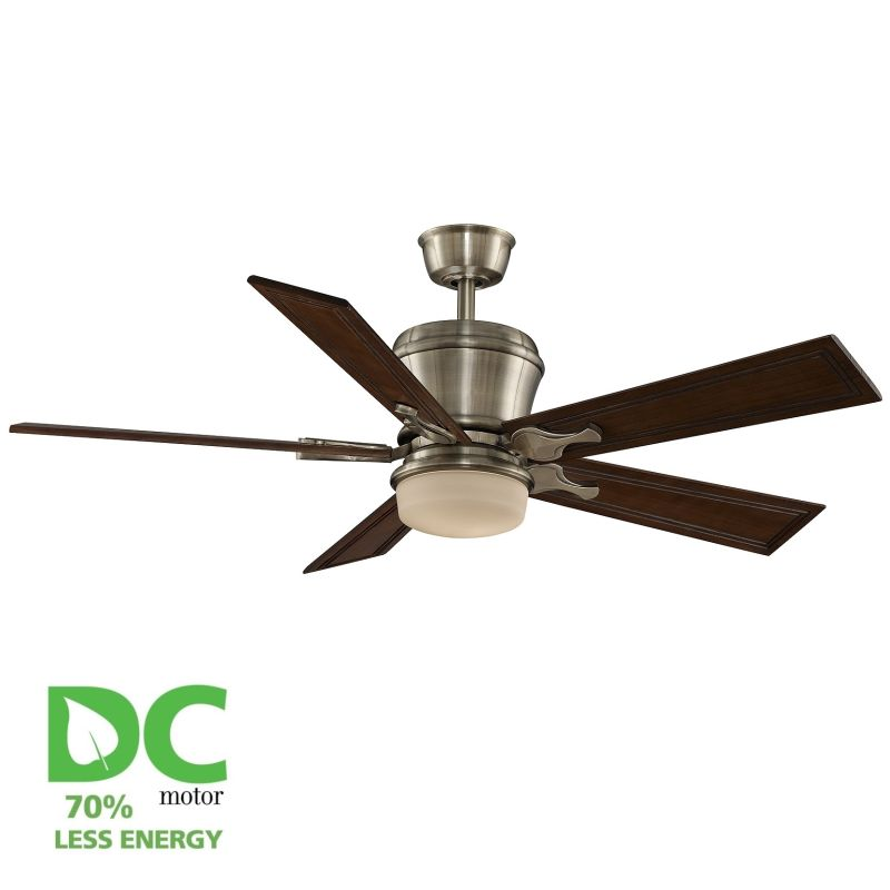 "Fanimation MAD3260-B5132RC Sandella 52"" 5 Blade DC Ceiling Fan - Rich"