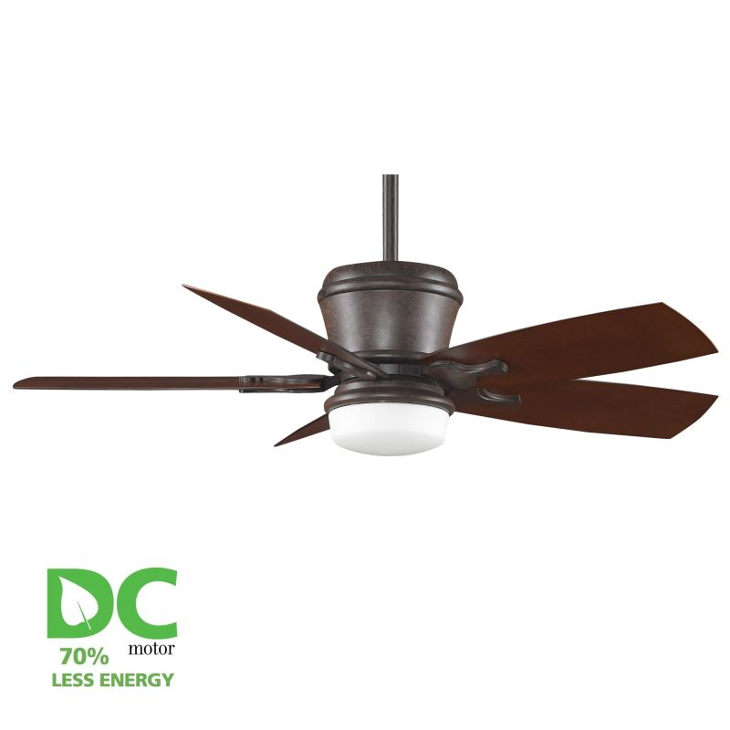 """Ceiling Fans With Up And Down Lights: Fanimation Satin Nickel Sandella 48"""" 5 Blade DC Ceiling"""