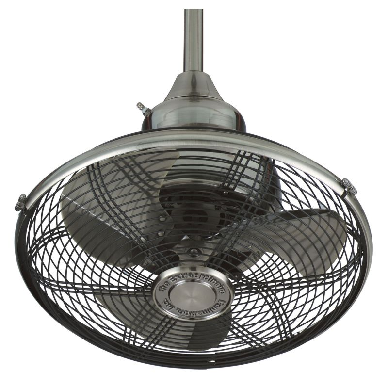 "Fanimation OF110PW Pewter 18"" 3 Blade Oscillating Ceiling"