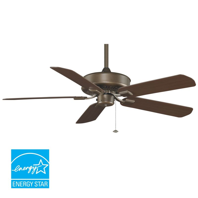 Fanimation tf910az aged bronze 50 5 blade energy star for 5 star energy