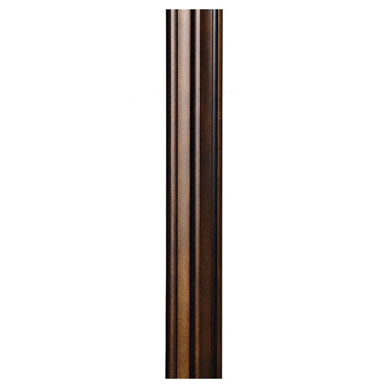 Feiss 7POST 7 Foot Direct Burial Post Astral Bronze Outdoor Lighting