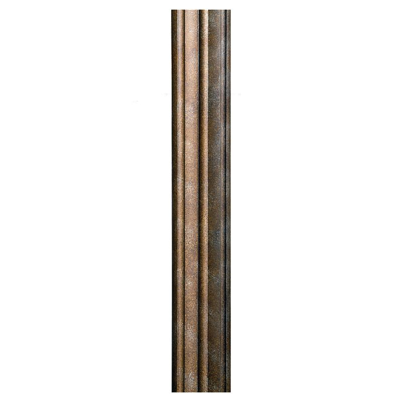 Feiss 7POST 7 Foot Direct Burial Post British Bronze Outdoor Lighting