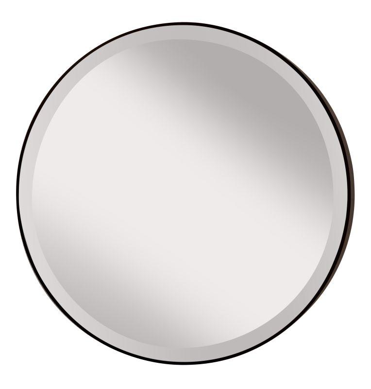 "Feiss MR1127 Johnson 28.5"" Diameter Rounded Mirror Oil Rubbed Bronze"