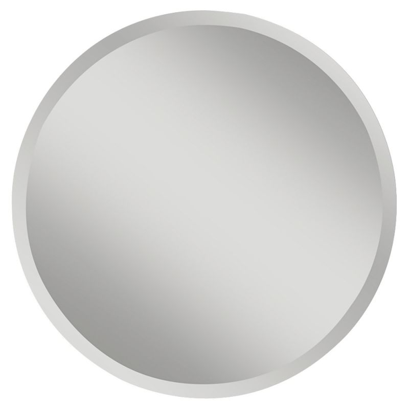 "Feiss MR1155 Infinity 30"" Diameter Rounded Mirror Clear Home Decor"
