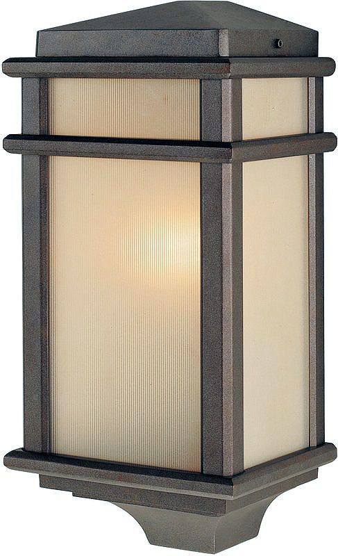 Feiss OL3403 Craftsman / Mission 1 Light Outdoor Wall Sconce from the