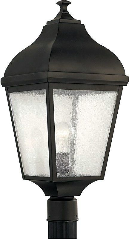 Feiss OL4007 1 Light Post Light from the Terrace Collection Oil Rubbed