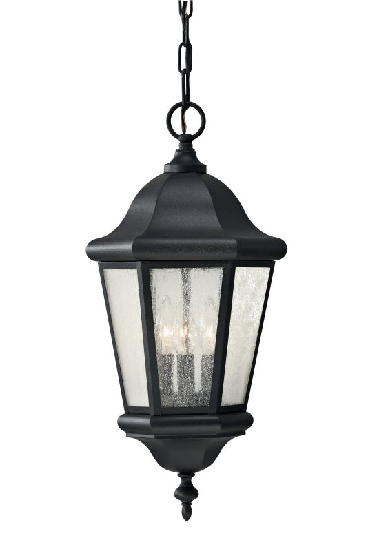 "Feiss OL5911 Martinsville 21"" 3 Light Outdoor Pendant Black Outdoor Sale $162.00 ITEM: bci1983033 ID#:OL5911BK UPC: 14817478235 :"
