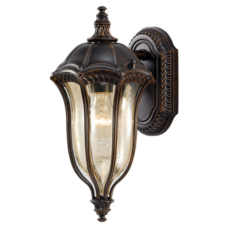 Feiss OL6001-LED Baton Rouge 1 Light LED Outdoor Wall Sconce Walnut
