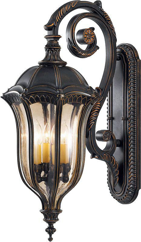 Feiss OL6004 Four Light Outdoor Wall Sconce from the Baton Rouge