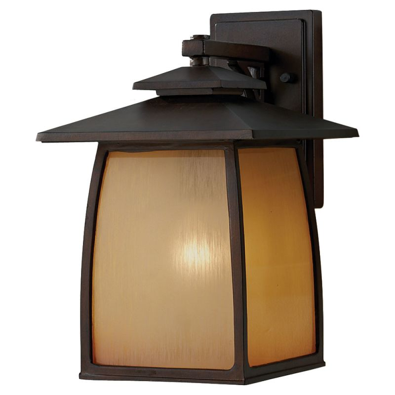 Feiss OL8502-LED Wright House 1 Light LED Outdoor Wall Sconce Sorrel