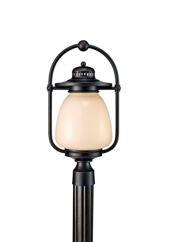 """Feiss OLPL7408 Mc Coy 20.5"""" High 1 Light Fluorescent Outdoor Post"""