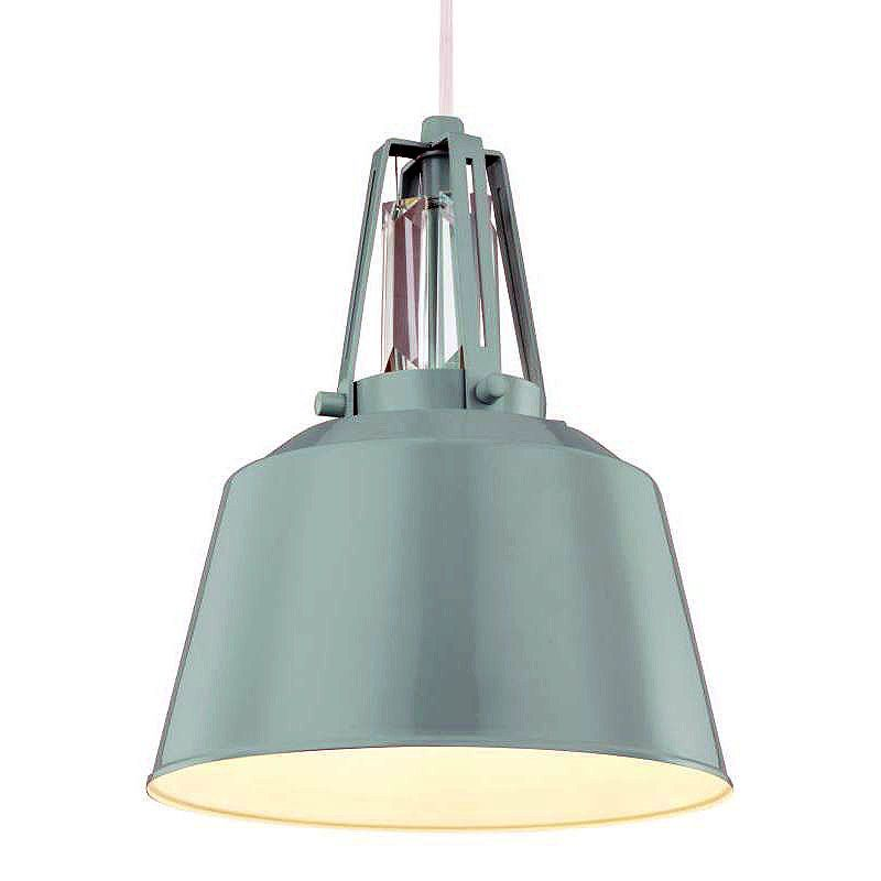 Feiss P1305 Freemont 1 Light Mini Pendant Hi Gloss Blue Indoor