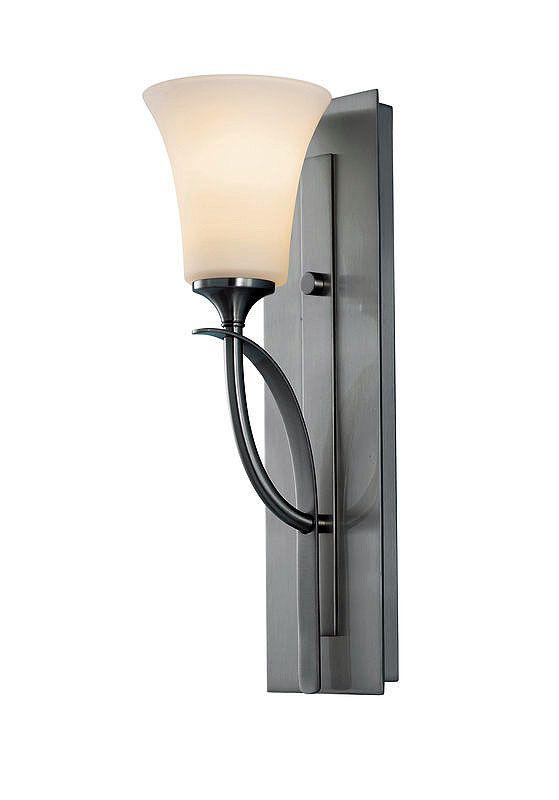 Feiss VS12701 Barrington 1 Light Reversible Wall Sconce Brushed Steel