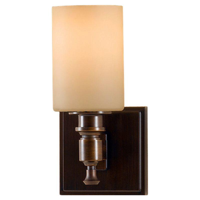 Feiss VS16101 Sullivan 1 Light Reversible Wall Sconce Heritage Bronze