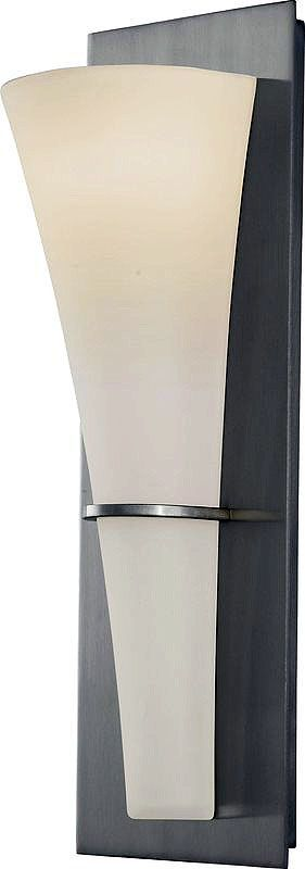 Feiss WB1341 Barrington 1 Light ADA Wall Sconce Brushed Steel Indoor