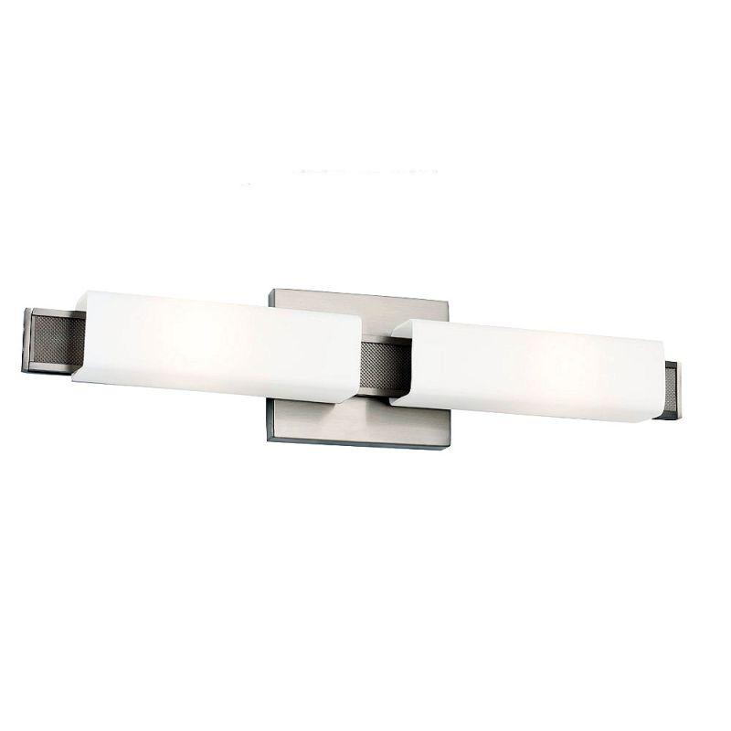 Feiss WB1732 Talia 2 Light Reversible ADA Bathroom Bath Bar Brushed