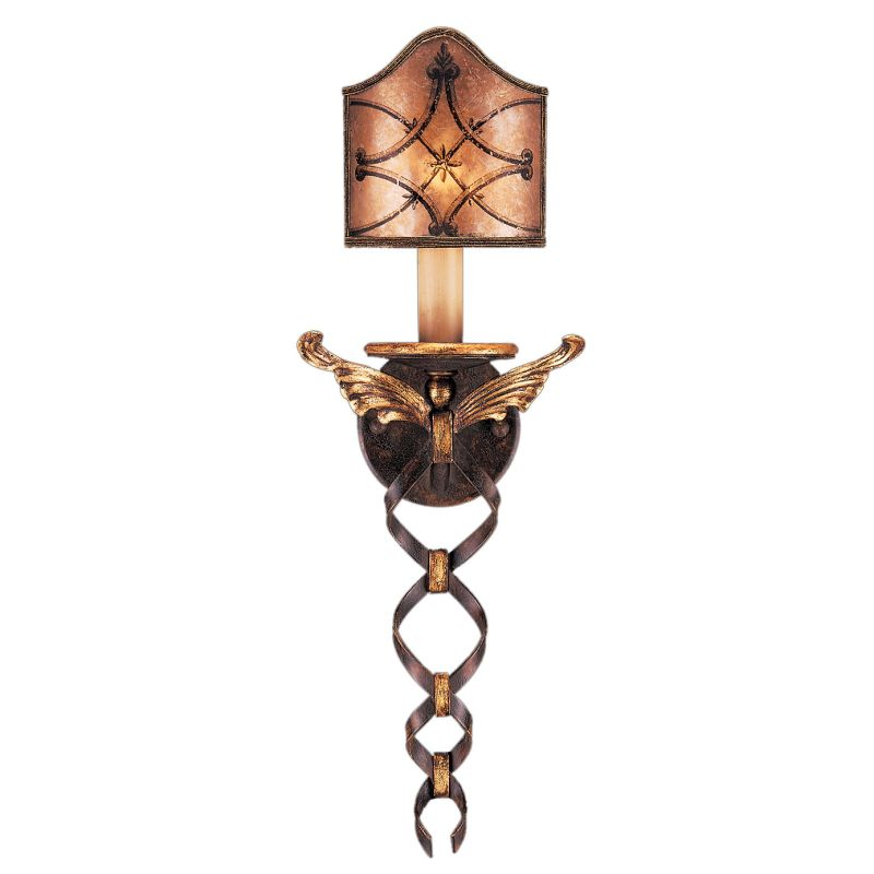Fine Art Lamps 164550ST Villa 1919 Single-Light Wall Sconce with