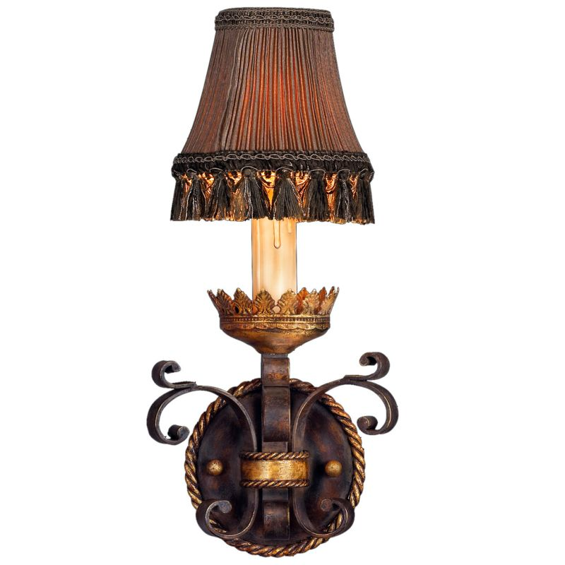 Fine Art Lamps 220750ST Castile Single-Light Wall Sconce with