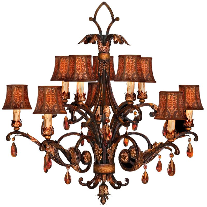 Fine Art Lamps 303940ST Brighton Pavillion Ten-Light Two-Tier Sale $7308.00 ITEM: bci2258030 ID#:303940ST :