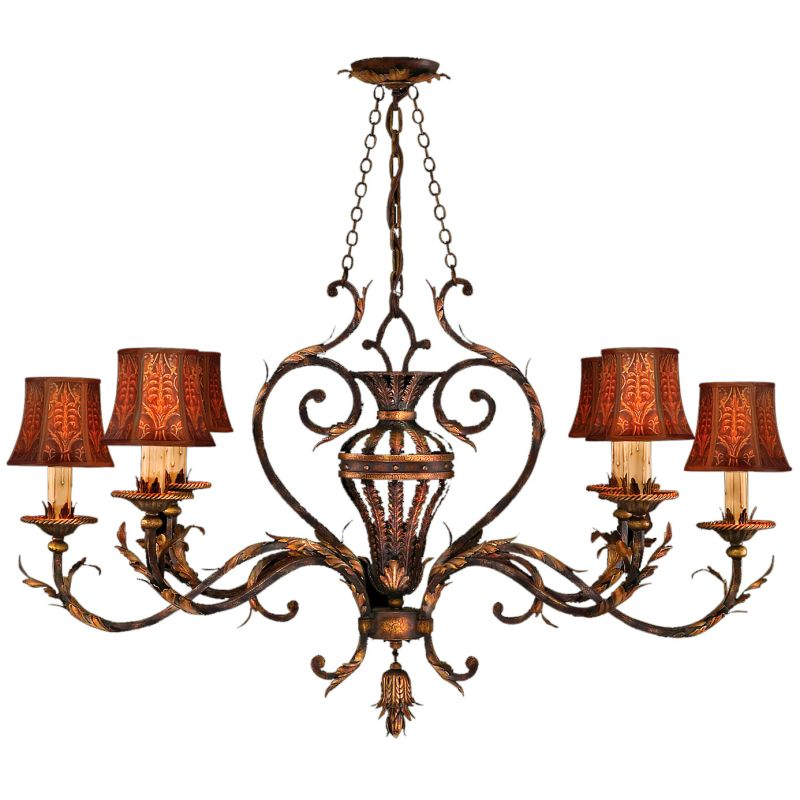 Fine Art Lamps 304640ST Brighton Pavillion Six-Light Single-Tier Sale $5523.00 ITEM: bci2258035 ID#:304640ST :