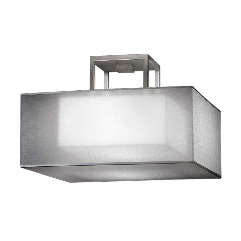 Fine Art Lamps 330740 2st Silver Leaf Quadralli Silver 17
