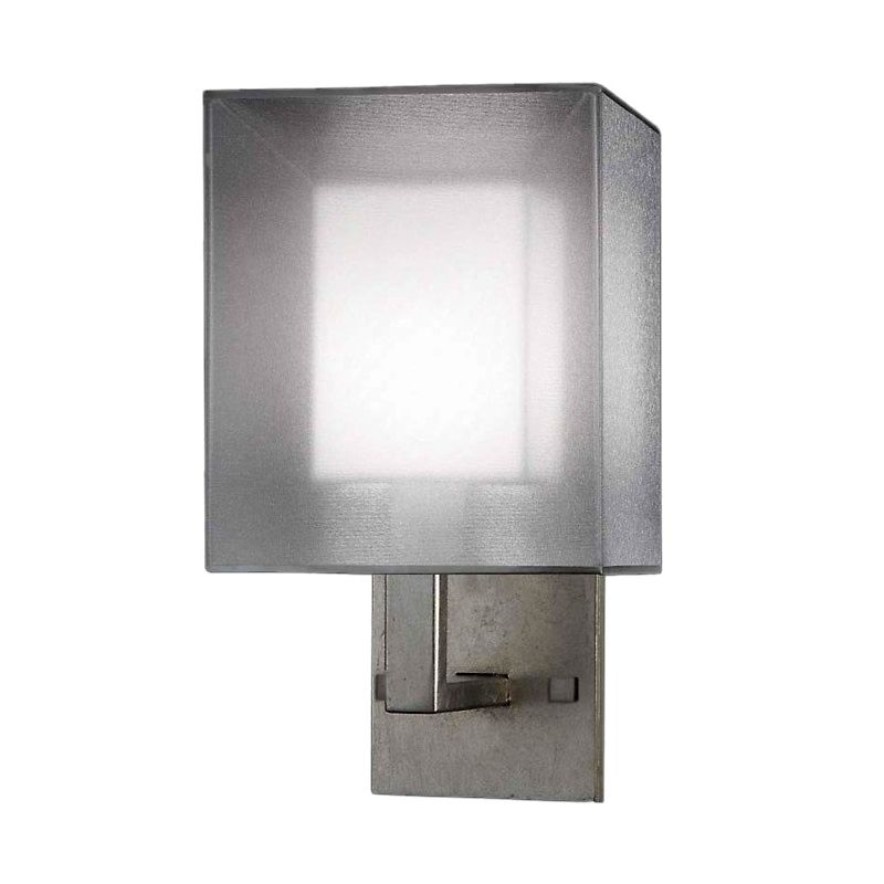 Fine Art Lamps 331150-2ST Quadralli Silver Single-Light Wall Sconce