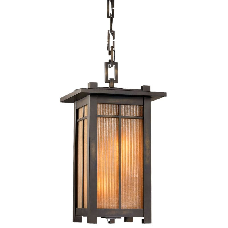 Fine Art Lamps 400880ST Capistrano Four-Light Outdoor Pendant Warm