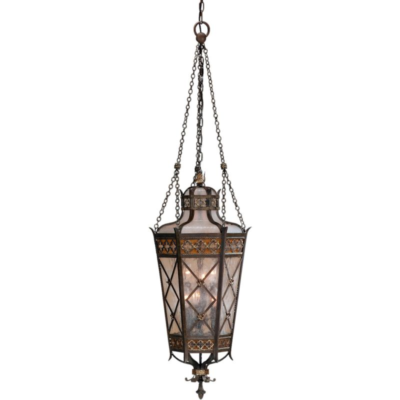 Fine Art Lamps 402482ST Chateau Outdoor Six-Light Outdoor Pendant with