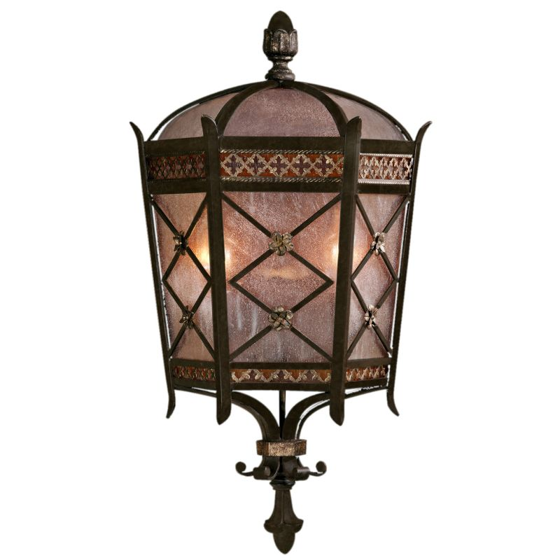 Fine Art Lamps 402781ST Chateau Outdoor Two-Light Outdoor Wall Sconce