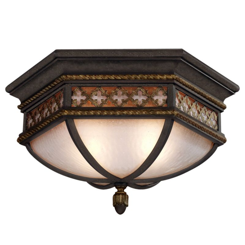 """Fine Art Lamps 403082ST Chateau Outdoor 21"""" Diameter Two-Light Outdoor"""