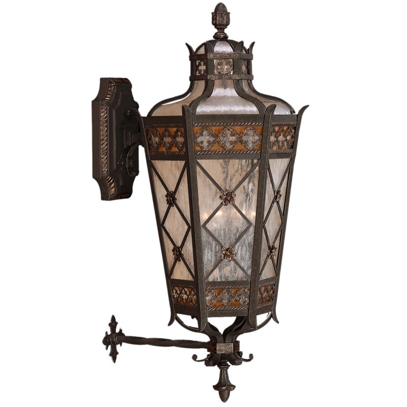 Fine Art Lamps 403681ST Chateau Outdoor Four-Light Outdoor Wall Sconce