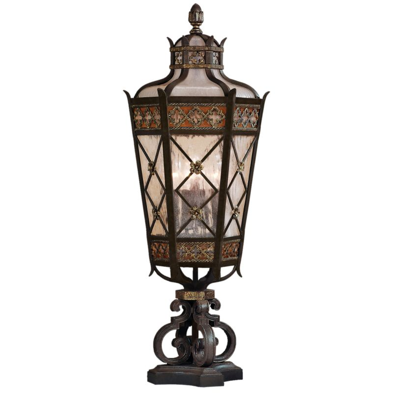Fine Art Lamps 403983ST Chateau Outdoor Five-Light Post Light with