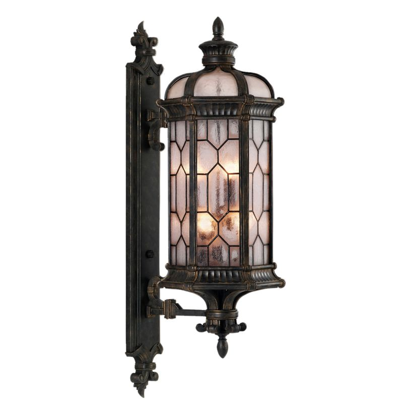Fine Art Lamps 414081ST Devonshire Six-Light Outdoor Wall Sconce with
