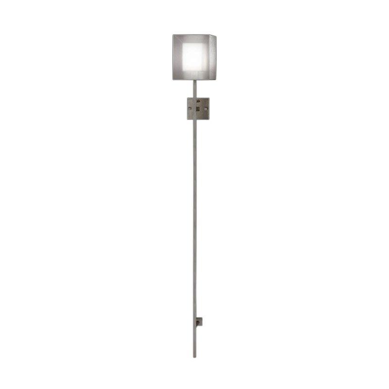 Fine Art Lamps 427250-2ST Quadralli Silver Single-Light Wall Sconce
