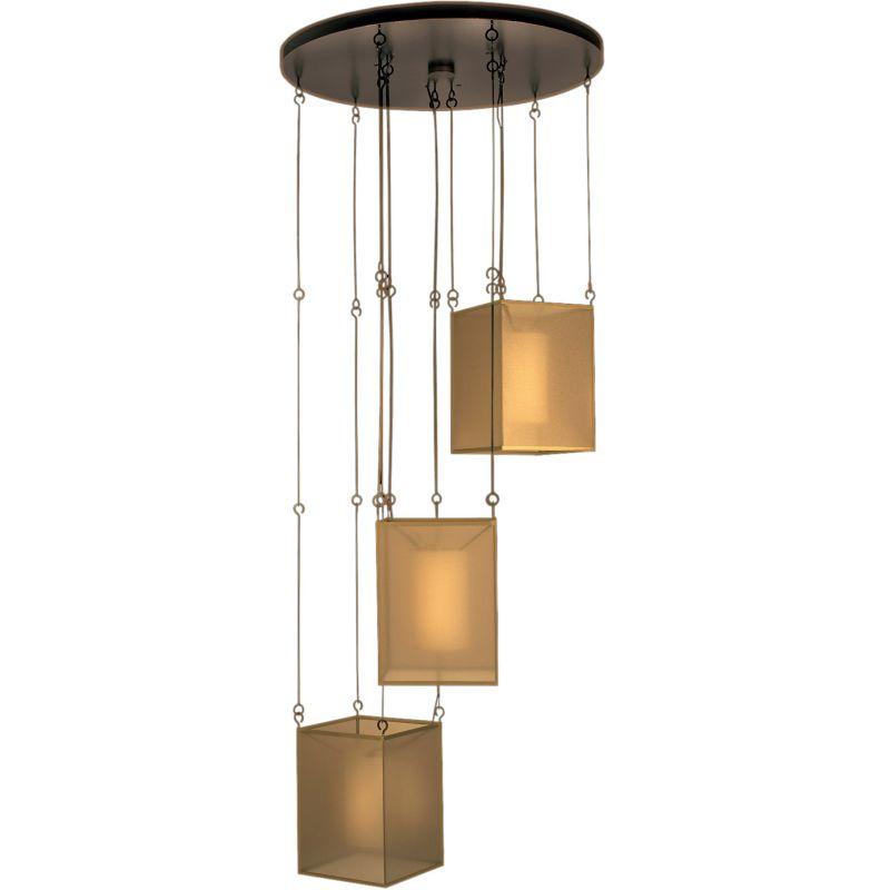 "Fine Art Lamps 435740ST Quadralli 31"" Diameter Three-Light Multi-Light"