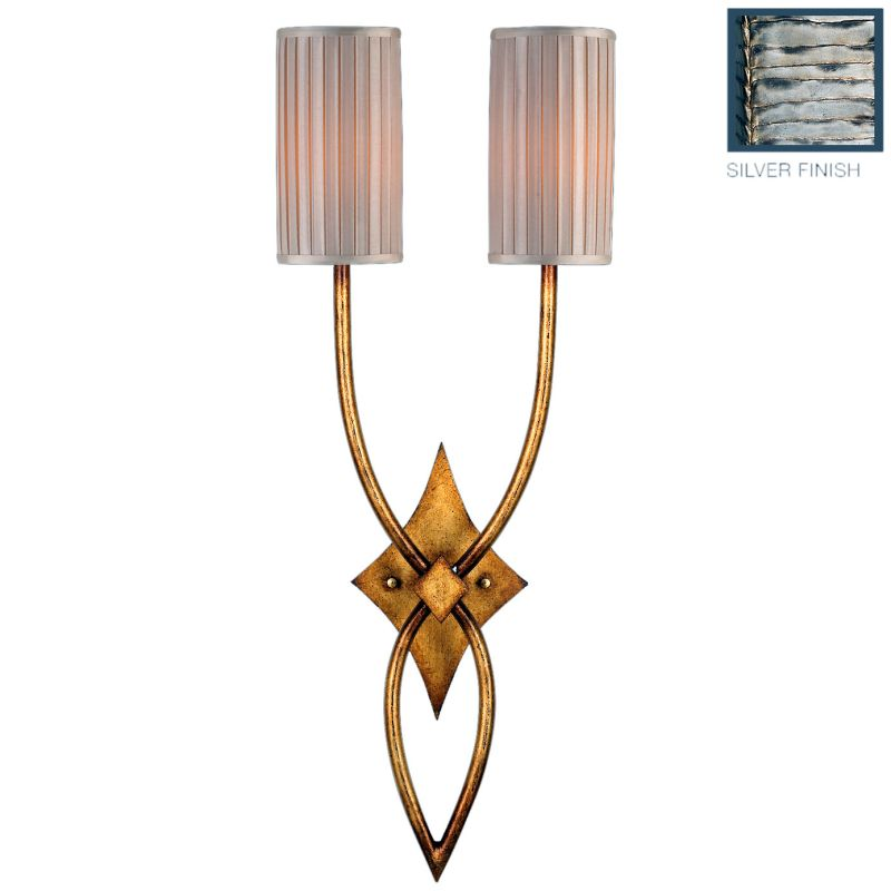Fine Art Lamps 437450ST Portobello Road Two-Light Wall Sconce with Sale $1029.00 ITEM: bci2258172 ID#:437450ST :