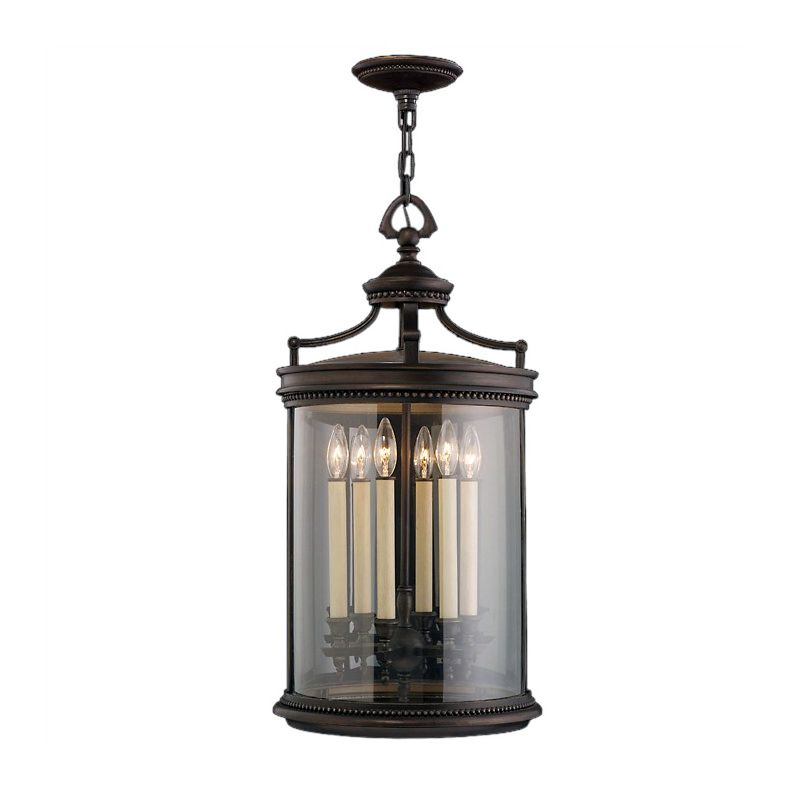 Fine Art Lamps 538182ST Louvre Six-Light Outdoor Pendant with Antiqued Sale $1627.50 ITEM: bci2258197 ID#:538182ST :