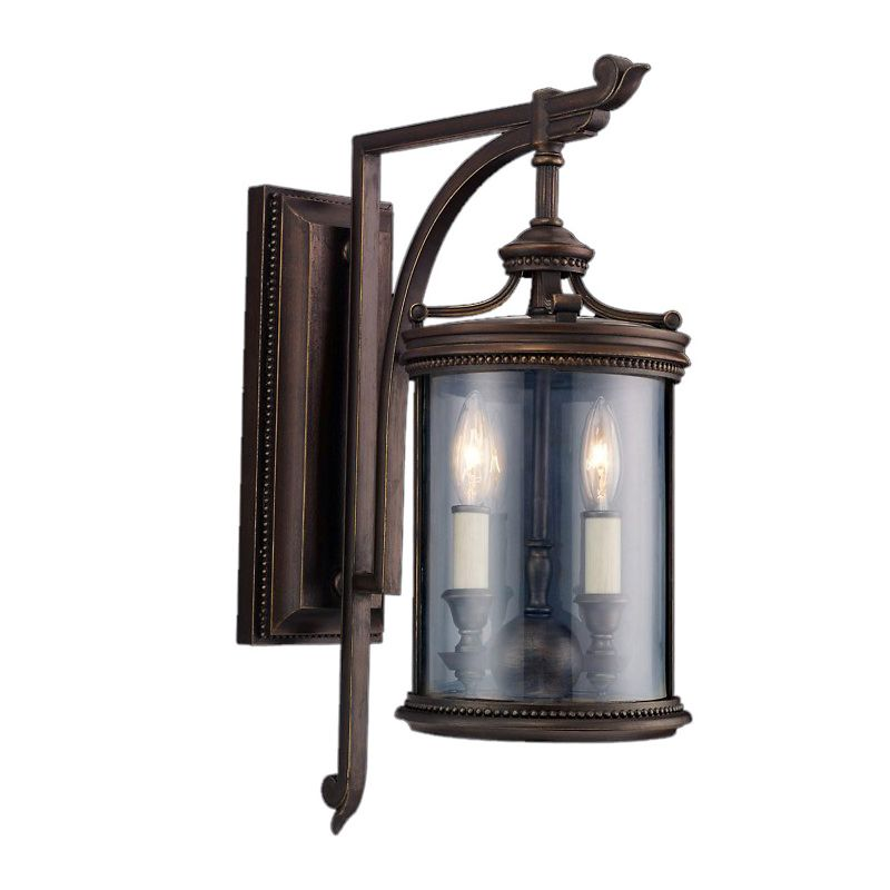 Fine Art Lamps 542281ST Louvre Two-Light Outdoor Wall Sconce with Sale $766.50 ITEM: bci2258204 ID#:542281ST :