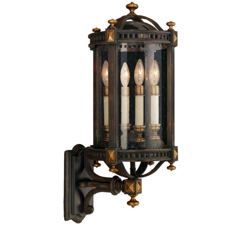 Fine Art Lamps 564681ST Beekman Place Four-Light Outdoor Wall Sconce