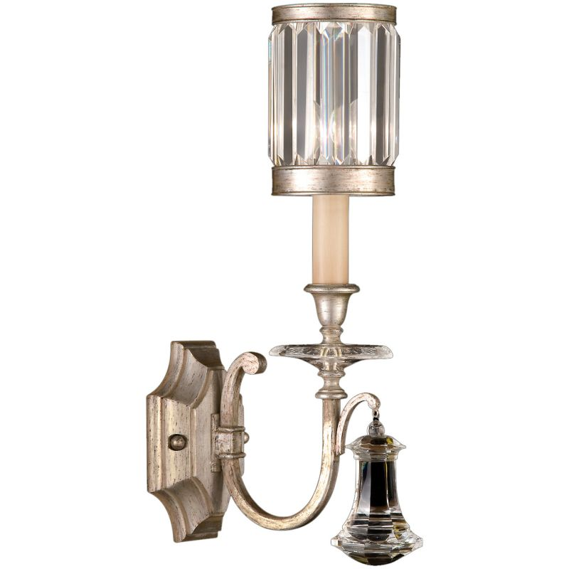 Fine Art Lamps 582850-2ST Eaton Place Silver Single-Light Wall Sconce