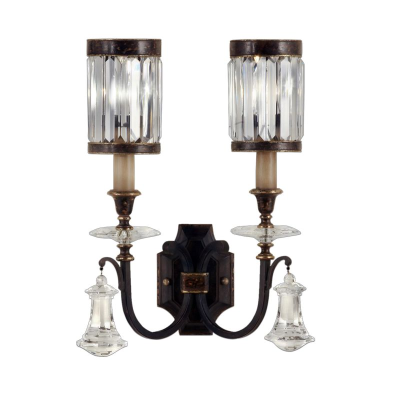 Fine Art Lamps 583050ST Eaton Place Two-Light Wall Sconce with