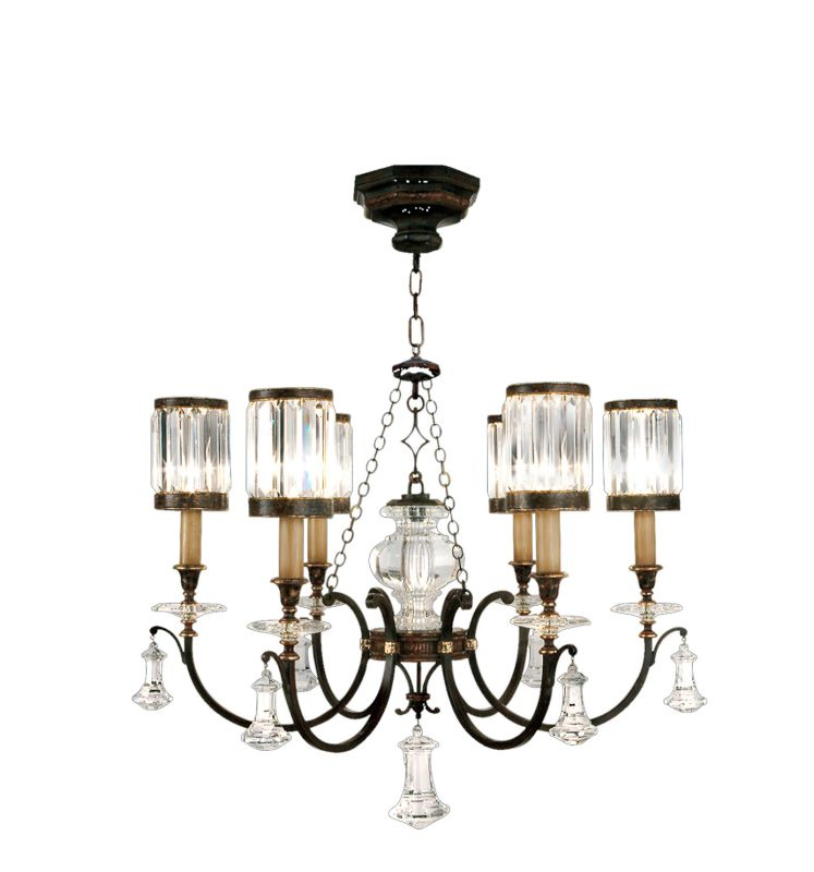 Fine Art Lamps 595440ST Eaton Place Six-Light Single-Tier Chandelier Sale $8589.00 ITEM: bci2258270 ID#:595440ST :