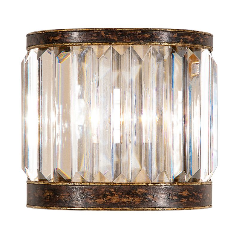 Fine Art Lamps 605650ST Eaton Place Single-Light Wall Sconce with