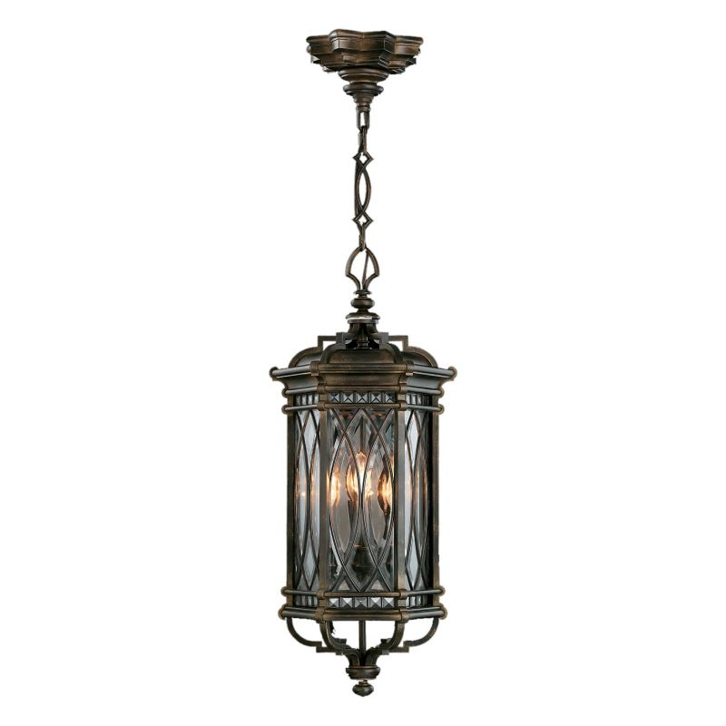 Fine Art Lamps 610882ST Warwickshire Four-Light Outdoor Pendant with