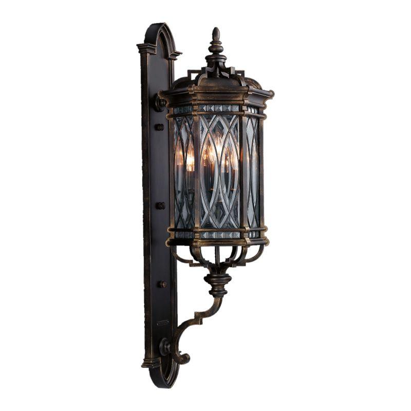 Fine Art Lamps 612081ST Warwickshire Four-Light Outdoor Wall Sconce